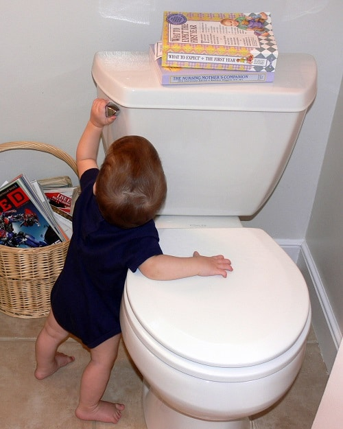 Excellent How To Baby Proof Your Toilet Parent Guide Alphanode Cool Chair Designs And Ideas Alphanodeonline