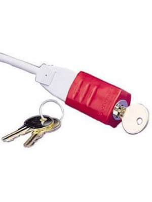 baby proof electrical plug lock and key