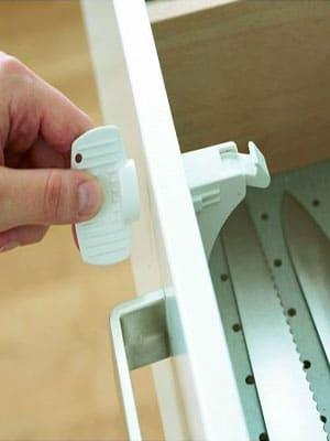 Child Safe magnetic drawer locks