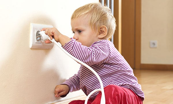How to baby proof everything electrical