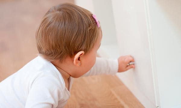 How to baby proof your cabinets