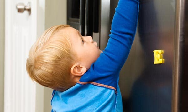 How to baby proof your fridge