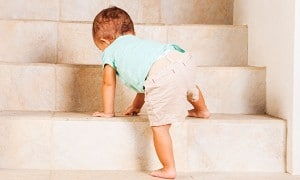 How to baby proof your stairs