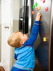 How to baby proof your refrigerator