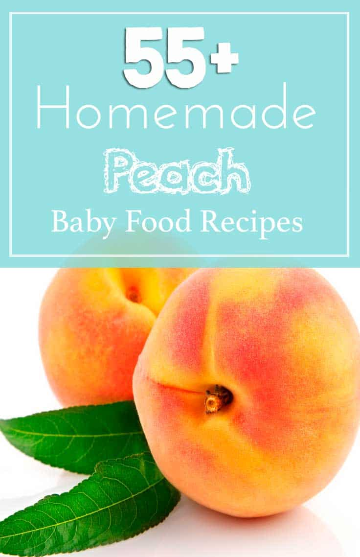 55 peach baby food recipes