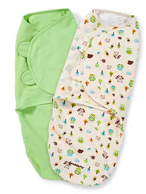 Adjustable swaddle wrap for babies