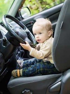 baby proofing car guide
