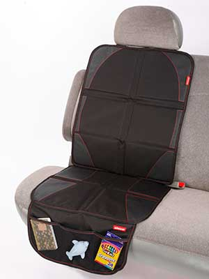 Baby seat leather car protector