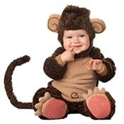 brown Cheeky baby monkey costume