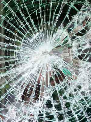 Glass window film