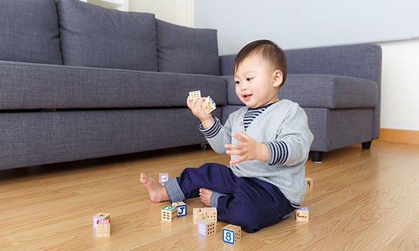 How to baby proof your living room