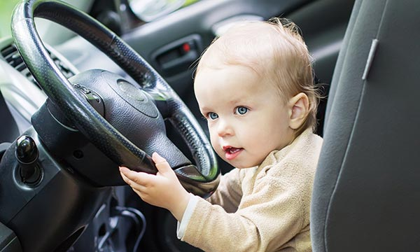 How to baby proof your car