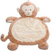 Monkey themed baby play mat