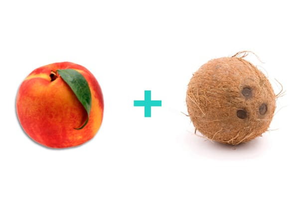Peach and coconut baby food recipes