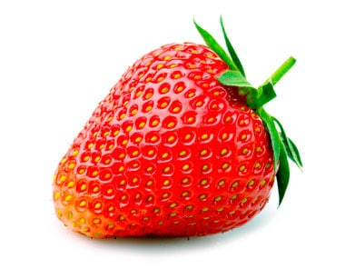 strawberry to be used in baby food