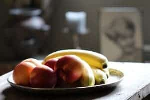Peach and Banana Fruits