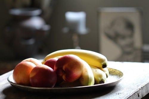 Peach and Banana Fruits