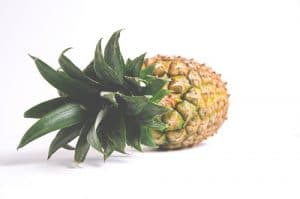 pineapple white backgroound