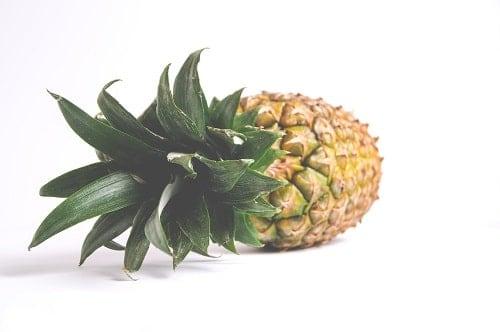 pineapple white backgroound