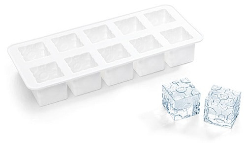 white ice tray