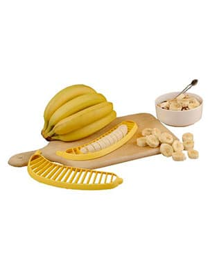 banana slicing kitchen tool