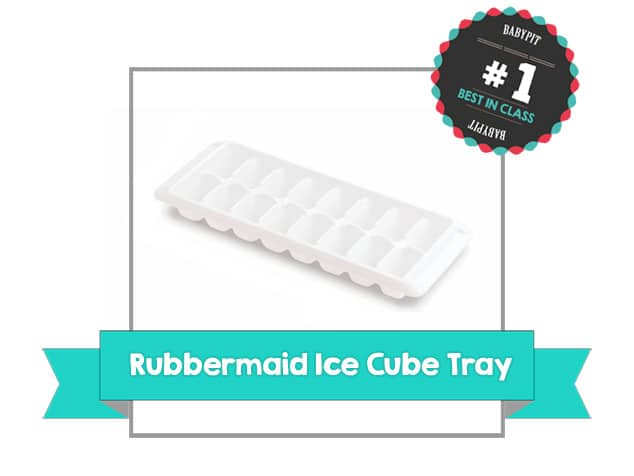 best ice cube tray by rubbermaid