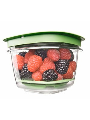 A container that keeps berries fresher for longer.