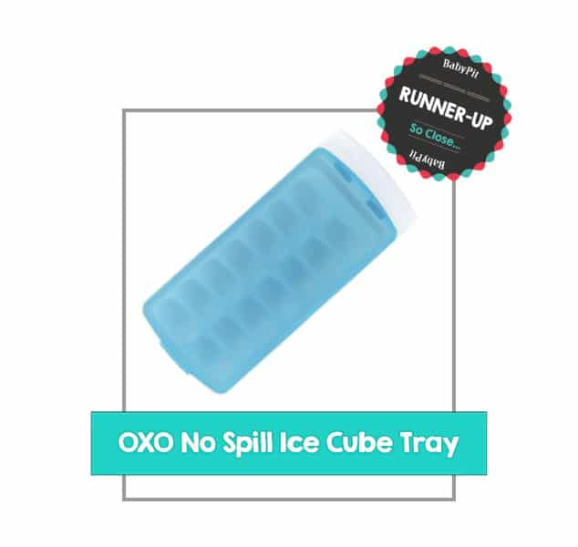 Oxo lno spill lidded ice cube tray