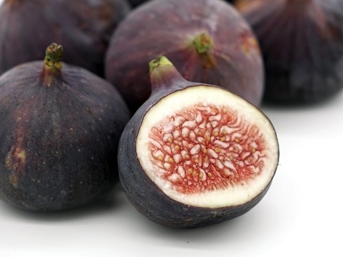 one sliced Figs fruit