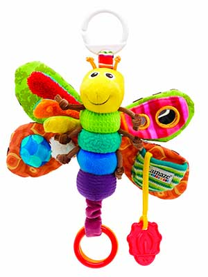 Lamaze play and grow freddie the firefly take along baby toy