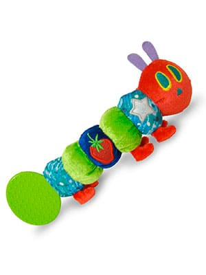 The very hungry caterpillar baby teether inspired by the book