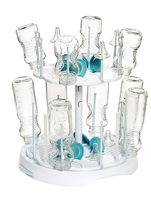 Drying rack for baby bottles