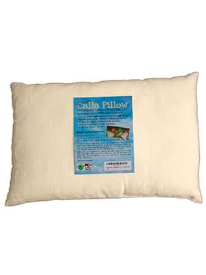 Made in USA organic toddler pillow