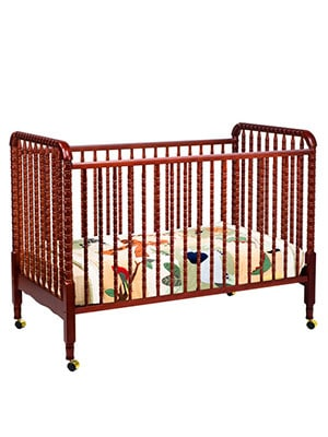 best wooden portable baby crib for nursery