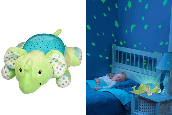 Musical Elephant Projection Night Light For Baby