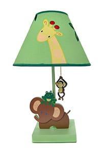 lampe de chambre de bébé utilisée comme veilleuse