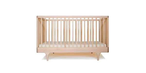 organic eco friendly baby crib made from sustainable wood