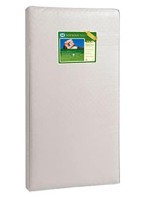 natural crib mattress with soybean  foam core