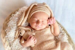 baby comfortable sleeping