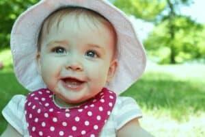 baby gorgeous smile
