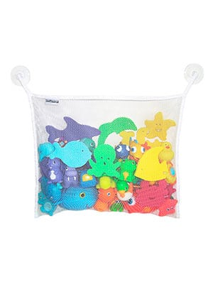 best net with suction cups for bath toy storage
