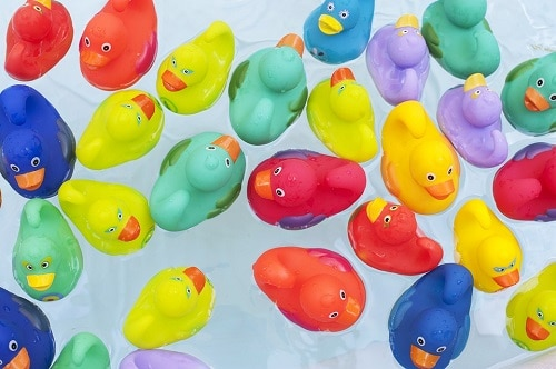 baby colorful duck toys