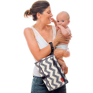 mom baby and diaper changing kit