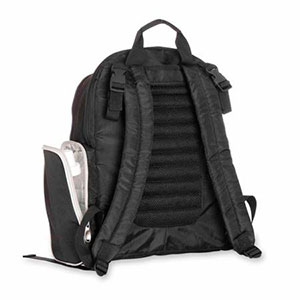 backpack diaper bag straps and insulated baby bottle pocket