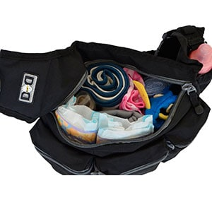 daddy diaper bag main storage compartment - diaper dude