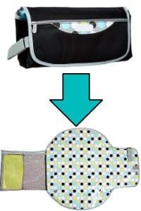 travel baby changing kit