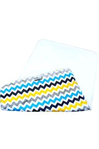travel diaper changing kit- flannel