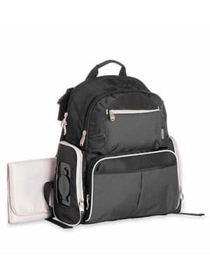 black diaper bag backpack grace gotham
