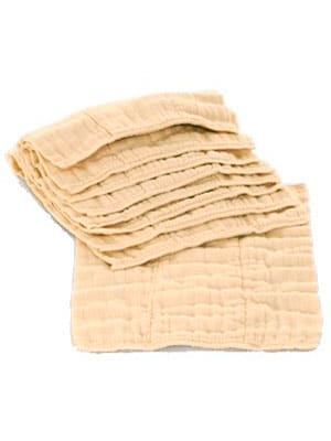 best unbleached prefold cloth diapers