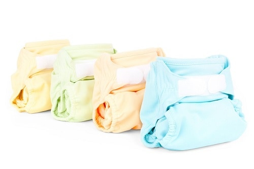 colorful baby cloth diaper